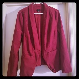torrid Jackets & Coats - TORRID  red/ Maroon full sleeve blazer